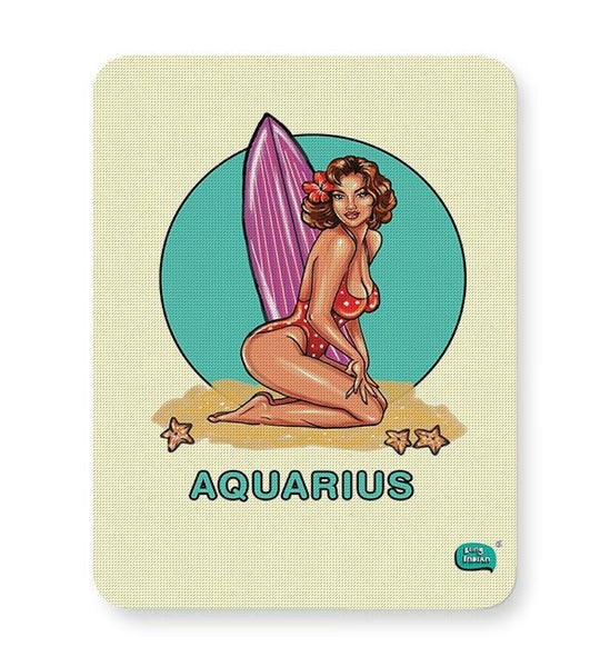 Being Indian Aquarius Zodiac Mousepad Online India