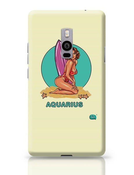 Being Indian Aquarius Zodiac OnePlus Two Covers Cases Online India