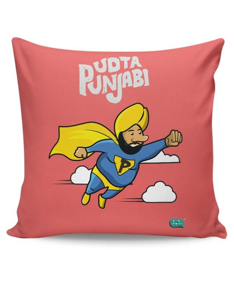 Being Indian Udta Punjabi Cushion Cover Online India