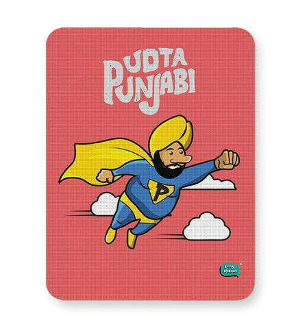 Being Indian Udta Punjabi Mousepad Online India