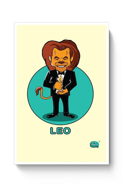 Being Indian Leo Zodiac Digital Art  Poster Online India