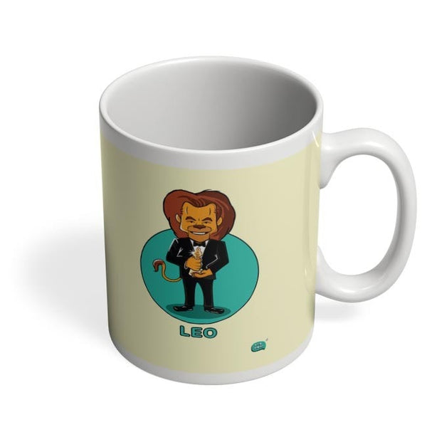 Being Indian Leo Zodiac Digital Art  Coffee Mug Online India