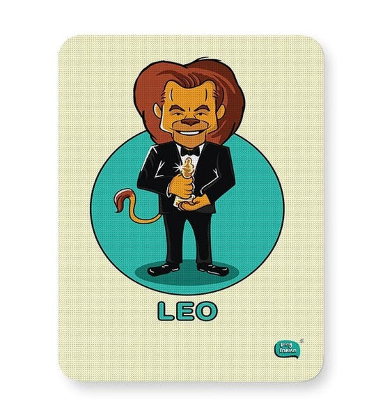 Being Indian Leo Zodiac Digital Art  Mousepad Online India