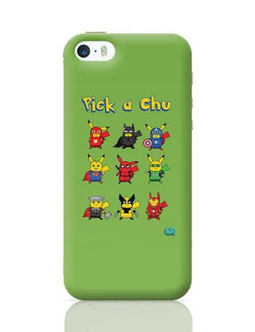 Being Indian Pik A Chu iPhone 5/5S Covers Cases Online India