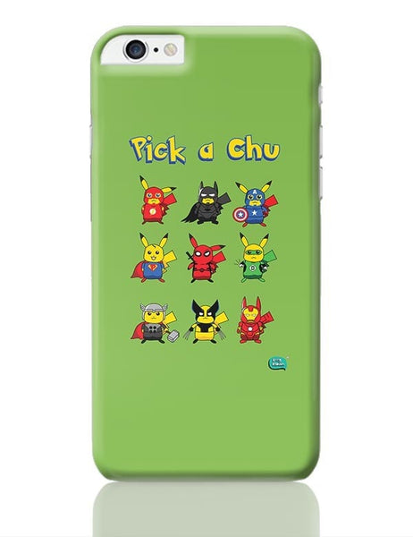 Being Indian Pik A Chu iPhone 6 Plus / 6S Plus Covers Cases Online India