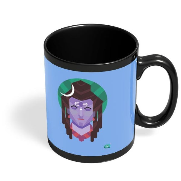 Being Indian The Destroyer Black Coffee Mug Online India