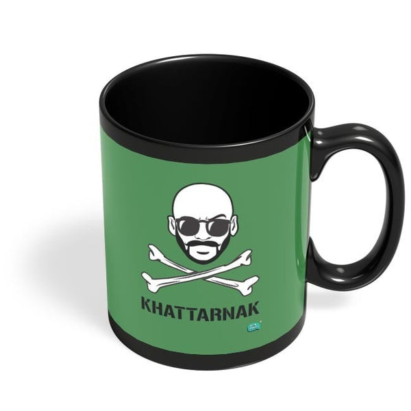Being Indian Sahil Khattar Khattarnaak Black Coffee Mug Online India