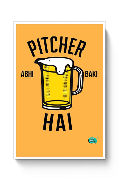 Buy Being Indian, Pitchers, Typography, Funny Poster