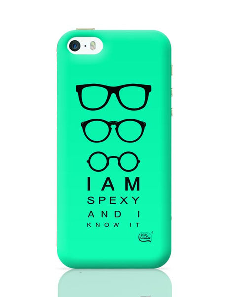 I Am Spexy And I Know It iPhone 5/5S Covers Cases Online India