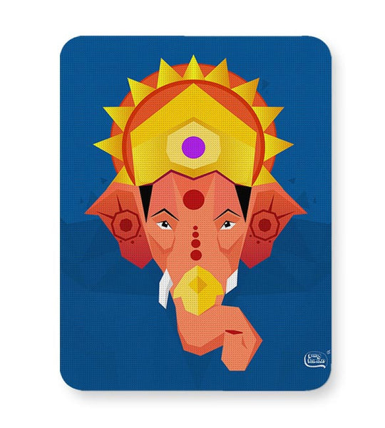 Lord Ganesha Digital Illustration Mousepad Online India