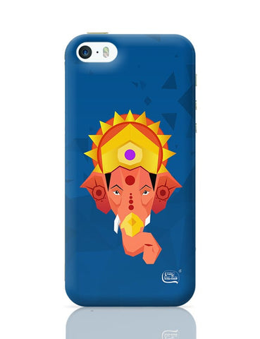 Lord Ganesha Digital Illustration iPhone 5/5S Covers Cases Online India