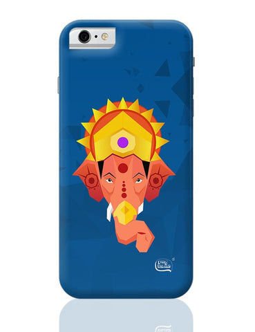 Lord Ganesha Digital Illustration iPhone 6 / 6S Covers Cases
