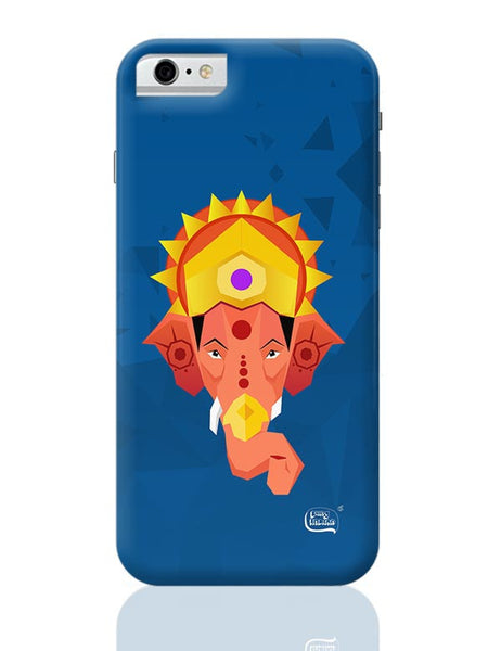 Lord Ganesha Digital Illustration iPhone 6 6S Covers Cases Online India