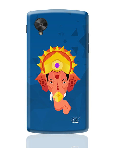 Lord Ganesha Digital Illustration Google Nexus 5 Covers Cases Online India