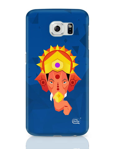 Lord Ganesha Digital Illustration Samsung Galaxy S6 Covers Cases Online India