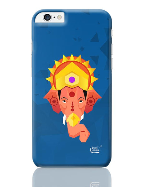 Lord Ganesha Digital Illustration iPhone 6 Plus / 6S Plus Covers Cases Online India