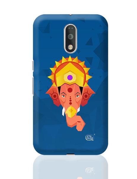 Lord Ganesha Digital Illustration Moto G4 Plus Online India