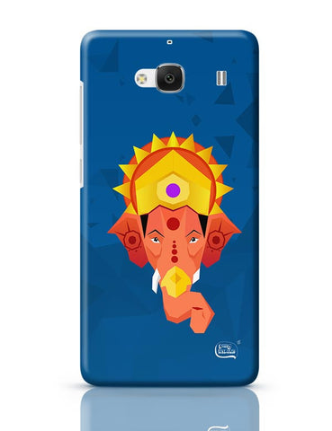 Lord Ganesha Digital Illustration Redmi 2 / Redmi 2 Prime Covers Cases Online India
