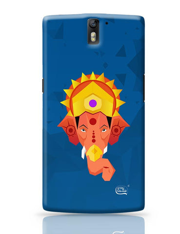 Lord Ganesha Digital Illustration OnePlus One Covers Cases Online India