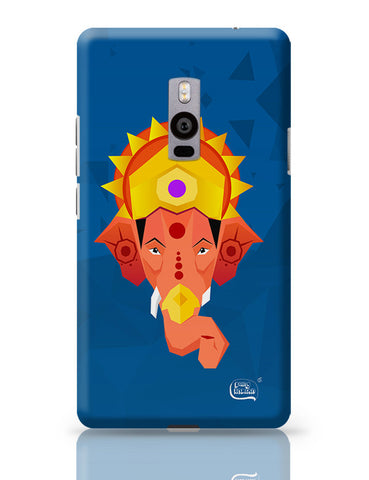 Lord Ganesha Digital Illustration OnePlus Two Covers Cases Online India