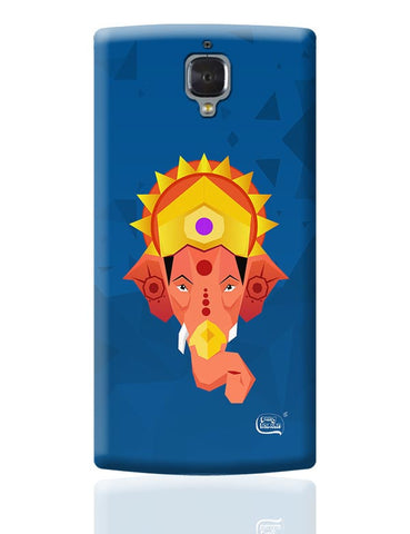 Lord Ganesha Digital Illustration OnePlus 3 Covers Cases Online India