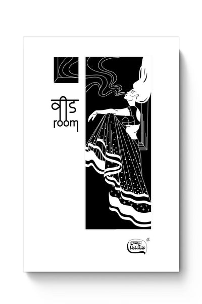 Buy Weed Room Illustration Poster