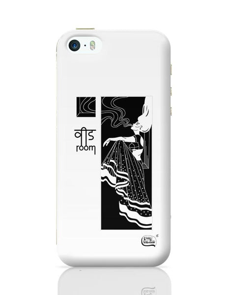 Weed Room Illustration iPhone 5/5S Covers Cases Online India