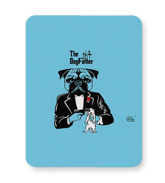 The Dogfather | Godfather Parody  Mousepad Online India