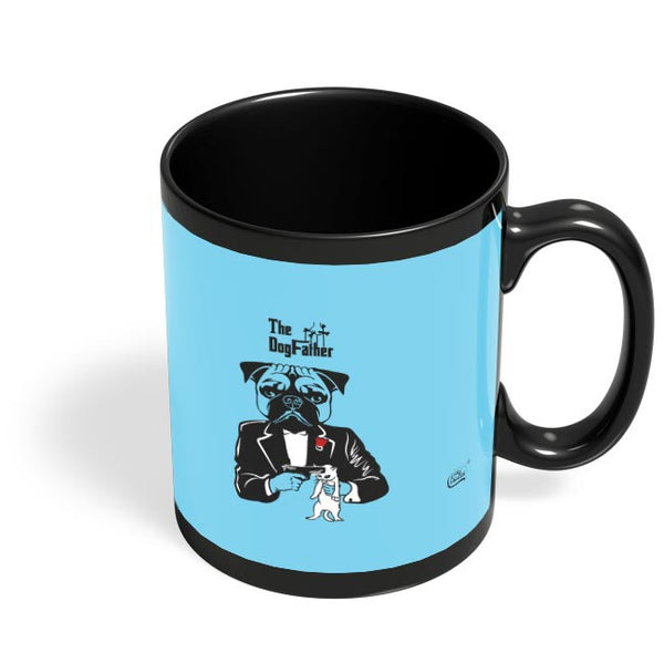 The Dogfather | Godfather Parody  Black Coffee Mug Online India