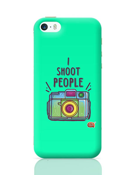 I Shoot People | Photography  iPhone 5/5S Covers Cases Online India