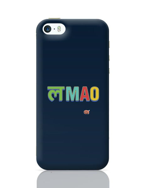 LMAO Funny Typo iPhone 5/5S Covers Cases Online India