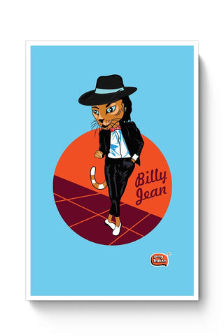Billy Jean | MJ Inspired Illustration  Poster Online India