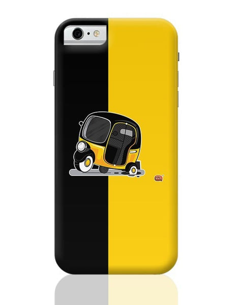 Auto Rickshaw in pot Hole | Typical Mumbai iPhone 6 6S Covers Cases Online India