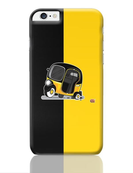 Auto Rickshaw in pot Hole | Typical Mumbai iPhone 6 Plus / 6S Plus Covers Cases Online India