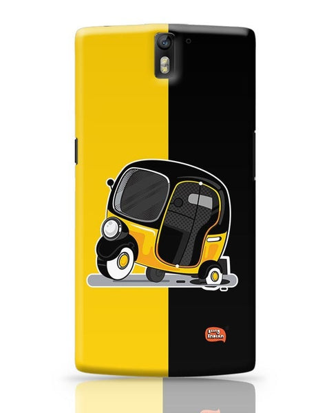 Auto Rickshaw in pot Hole | Typical Mumbai OnePlus One Covers Cases Online India