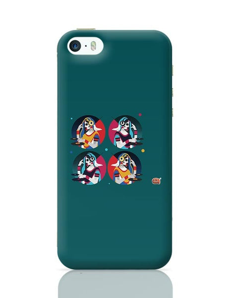 Bass Rani DJ desi girl Illustration iPhone 5/5S Covers Cases Online India