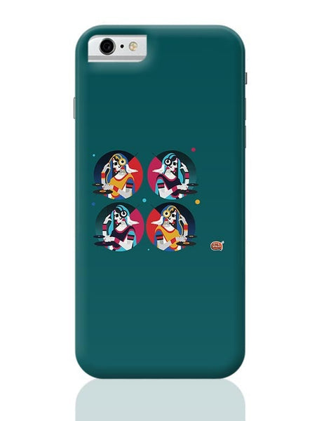 Bass Rani DJ desi girl Illustration iPhone 6 6S Covers Cases Online India