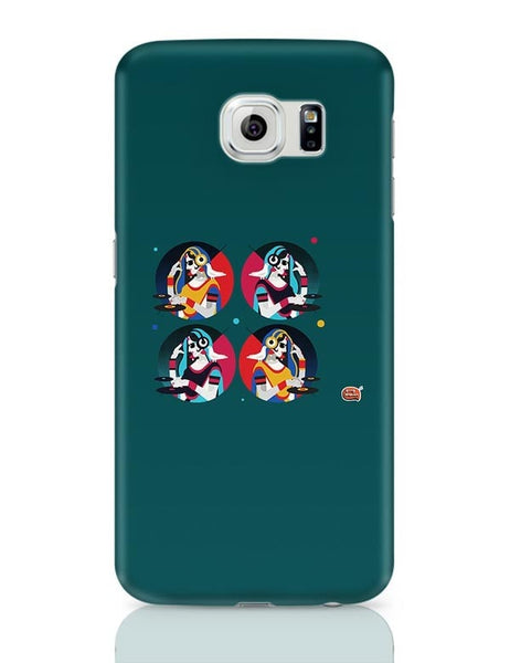 Bass Rani DJ desi girl Illustration Samsung Galaxy S6 Covers Cases Online India