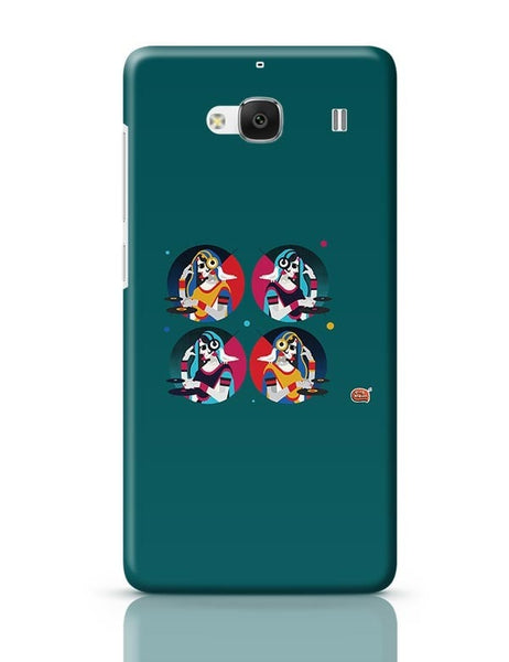 Bass Rani DJ desi girl Illustration Redmi 2 / Redmi 2 Prime Covers Cases Online India