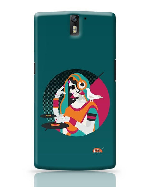 Bass Rani DJ desi girl Illustration OnePlus One Covers Cases Online India