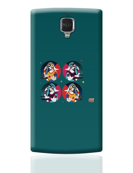 Bass Rani DJ desi girl Illustration OnePlus 3 Covers Cases Online India