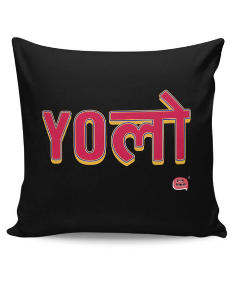 Yolo Cushion Cover Online India
