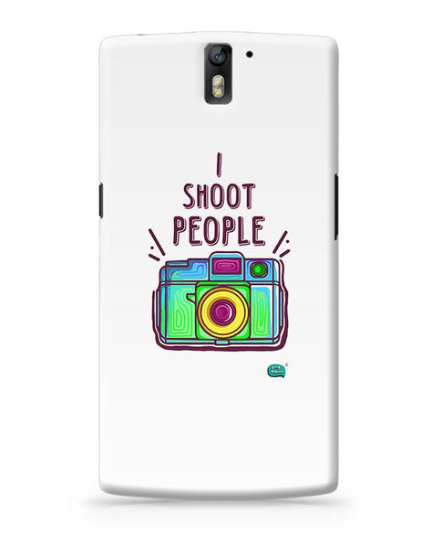 I Shoot People | Photography  OnePlus One Covers Cases Online India