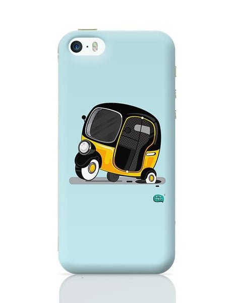 Auto Rickshaw in pot Hole | Typical Mumbai iPhone 5/5S Covers Cases Online India