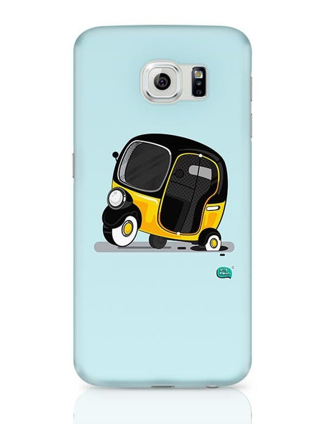 Auto Rickshaw in pot Hole | Typical Mumbai Samsung Galaxy S6 Covers Cases Online India
