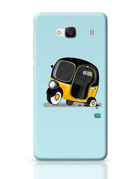 Auto Rickshaw in pot Hole | Typical Mumbai Redmi 2 / Redmi 2 Prime Covers Cases Online India