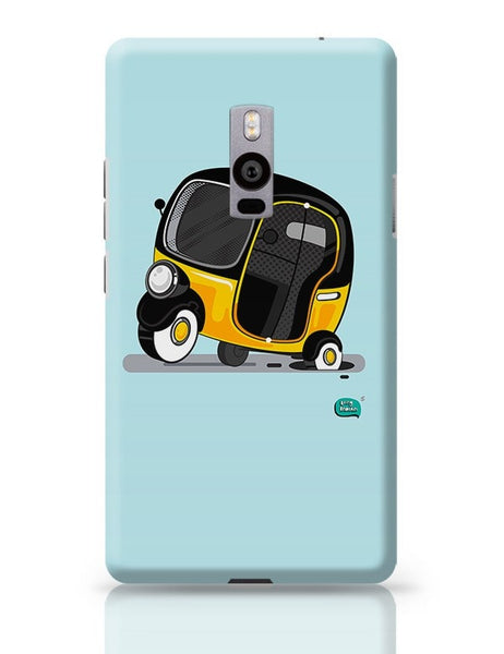Auto Rickshaw in pot Hole | Typical Mumbai OnePlus Two Covers Cases Online India