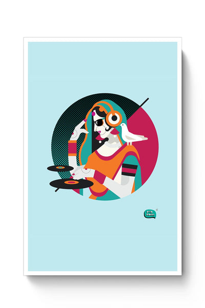 Dj Girl Desi Quirk Poster Online India