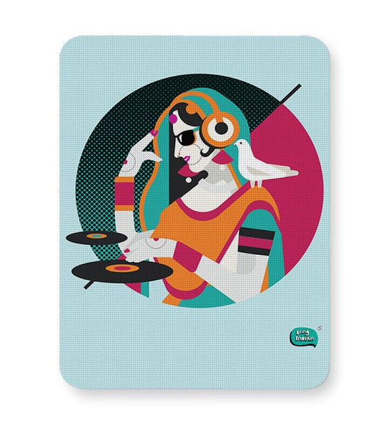 Dj Girl Desi Quirk Mousepad Online India