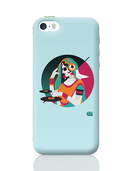 Dj Girl Desi Quirk iPhone 5/5S Covers Cases Online India